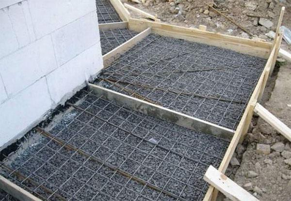 Зачем нужна и как построить отмостку из бетона