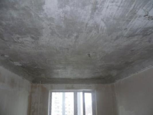 Как построить потолок из бетона