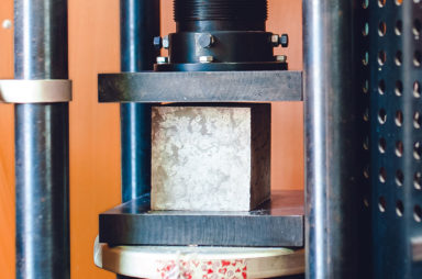 Лаборатория проверки качества бетона