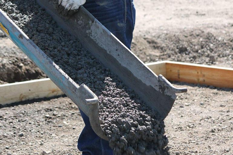 бетон только из гравия