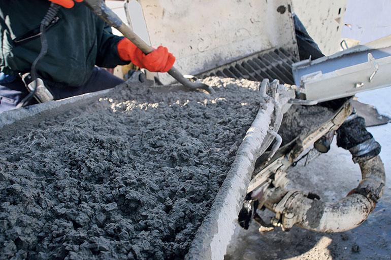 способы производства бетона