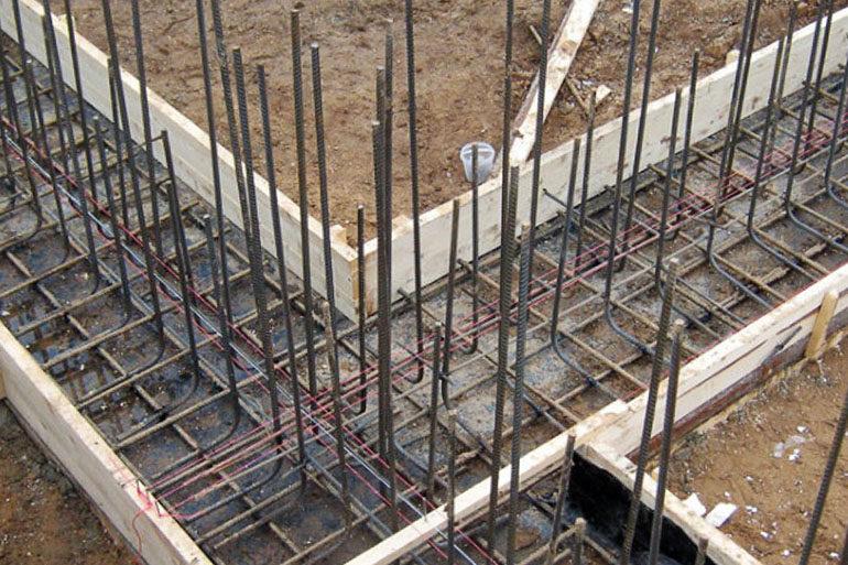 Как правильно армировать бетон