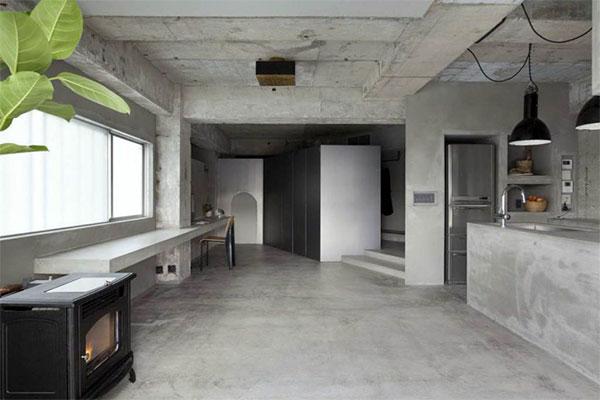 бетон потолки