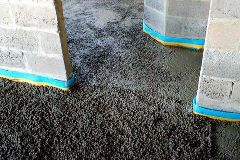 Применение легкого бетона