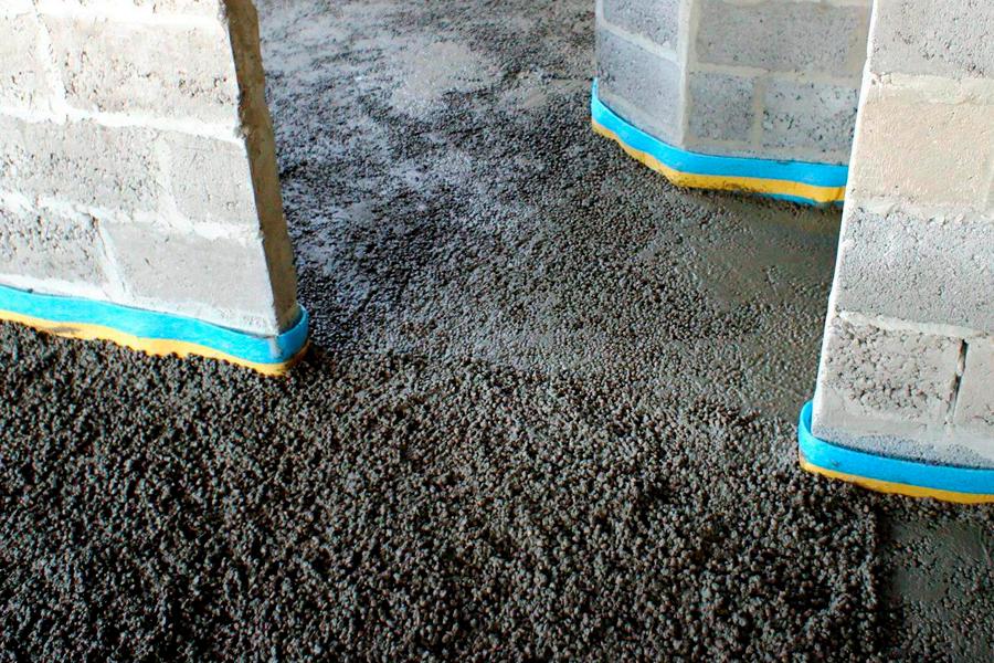Конструкционный легкий бетон утеплители для стен из керамзитобетона